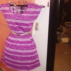Mudd purple dress